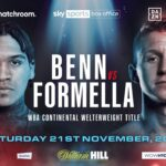 Formella vs.  Benn am 21. Nov. Auf #PovetkinWhyte2 Card!